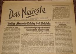 Das Neueste - Nachrichtenblatt Unserer Armee Nr. 294 V. 16.12.43 Propaganda-Kompanie 612 Der 9. Armee - 1939-45