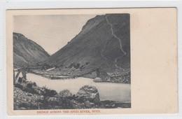Bridge Across The Spiti River, Spiti - Tibet
