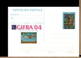 ITALIA - Cartolina Intero Postale - 2004 - MOSAICO NEL MAUSOLEO DI GALLA PLACIDIA A RAVENNA - Archeologia