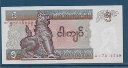 Myanmar - 5 Kyats - Pick N°70 - SPL - Myanmar