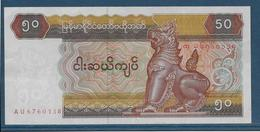 Myanmar - 50 Kyats - Pick N°73 - SUP - Myanmar