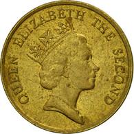 Monnaie, Hong Kong, Elizabeth II, 10 Cents, 1985, TTB, Nickel-brass, KM:55 - Hong Kong