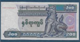 Myanmar - 200 Kyats - Pick N°75 - SUP - Myanmar