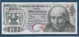 Mexique - 10 Pesos - Pick N°63i - SUP - Mexico