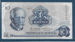 Norvège - 10 Kroner - Pick N°36b - TTB - Norvège