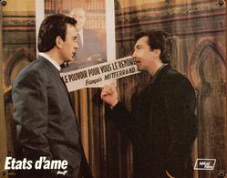 Grande Affichette Cartonnée Promo Du Film États D'âme 1986 États D'âme Robin Renucci ,François Cluzet Sous F. Mitterrand - Photographie