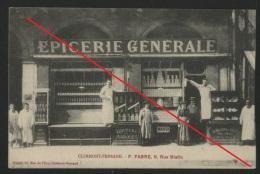 63 CLERMONT FERRAND - F. FABRE , 6 , Rue Blatin - Clermont Ferrand