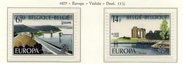 PIA - B ELGIO - 1977 : Europa  (Yv 1848-49) - Europa-CEPT