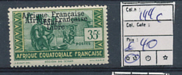 AEF FRANCE LIBRE YVERT 144c MNH - A.E.F. (1936-1958)