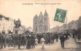 27 - EURE / Le Neubourg - 273234 - La Place - Beau Cliché Animé - Le Neubourg