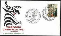 1977 - ITALIA - Cover + Y&T 1287 + VIAREGGIO - 6. 1946-.. Republic