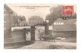 Ecole Pratique D'Agriculture Au Paraclet- Près Boves- Attelage-(C.6975) - France