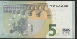 € 5 GREECE  Y001 J2  DRAGHI  UNC - EURO