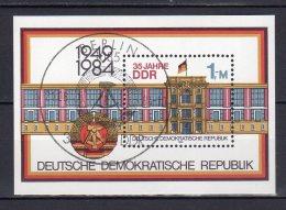 DDR  Block  77  Gestempelt  ( 2890 ) - DDR