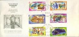 SOMALIA - REVOLUTION - SPORT TENNIS - MUSICS - TELECOM - BRIDGE - FISHING - SCHOOL - FDC - 1979 - RARE - Somalia (1960-...)