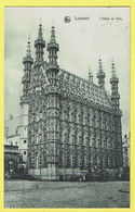 * Leuven - Louvain (Vlaams Brabant) * (Ed Nels, Série 36, Nr 2) Hotel De Ville, Town Hall, Stadhuis, Façade, Rare - Leuven