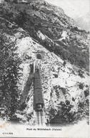VISP - ZERMATT BAHN → Pont Du Mühlebach Mit Dampfzug Anno 1905 - VS Valais