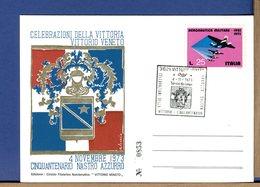 ITALIA - 1973 - VITTORIO VENETO - CELEBRAZIONI VITTORIA - CINQUANTENARIO NASTRO AZZURRO - Prima Guerra Mondiale
