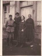 PHOTOS  Année 1940 Militaire Et La Famille - Mode