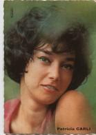 Petit Portrait D'Artiste Promotionnel / Patricia CARLI/ Publistar/ Années 1960   PA200 - Entertainers