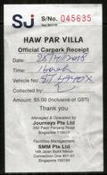 Discover Chinese Folklore At Haw Par Villa - Singapore.  (Singapour)   VIP Parking Ticket - Tickets D'entrée