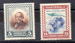 Serie De Guatemala Aéreo N ºYvert 141/42 (**) - Guatemala