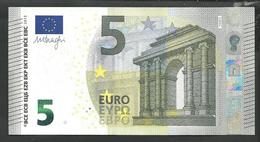 "New Issue Greece  Printer Y006J3 !! ""Y"" 5 EURO GEM UNC! Draghi Signature! - EURO"