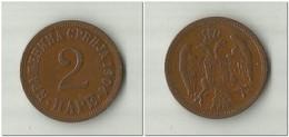 Serbia 2 Pare 1904 - Serbie