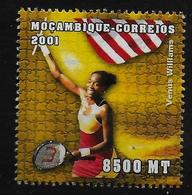 MOZAMBIQUE    N° 1552  * *  (cote 2e )  Tennis Williams - Tennis