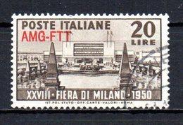 ITALIA TRIESTE 1950 CANCELLED - 7. Trieste