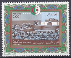 Algerien Algeria 1977 Geschichte History Politik Politics Nationalversammlung National Assembly, Mi. 698 ** - Algerien (1962-...)
