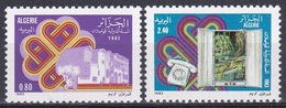 Algerien Algeria 1983 Weltkommunikationsjahr Kommunikation Communication Telefon Phone, Mi. 832-3 ** - Algerien (1962-...)