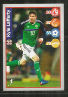 Kyle Lafferty. Irlande Du Nord.  Football Superstar Sticker - Trading Cards