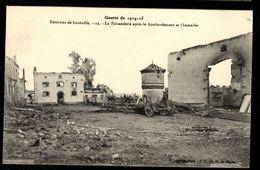 Environs De LUNEVILLE - La Faisanderie Aprés Le Bombardement Et L'Incendie - Guerre 1914-1915 - Luneville