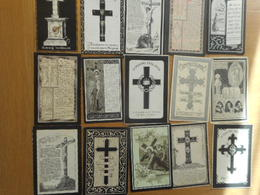D.P.-15 OUDE PRENTJES ° OF + TE THIELT JAREN 1800-ZIE 2 FOTOS-LOTJE 1 - Religion & Esotericism