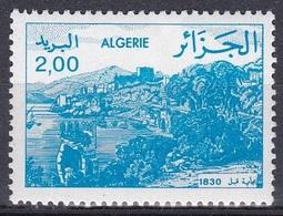Algerien Algeria 1984 Ansichten Landschaften Landescape Städte Stadt Bejaia, Mi. 844 ** - Algerien (1962-...)