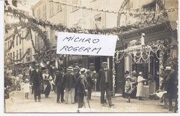 71 MARCIGNY - CARTE-PHOTO - Manifestation Du 10 Aôut 1913 - Pharmacie GARNIER - 260918 - Autres Communes