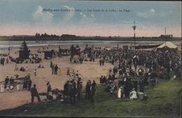 CPA Carte Postale Sully Sur Loire Loiret Les Bords De La Loire La Plage - Sully Sur Loire