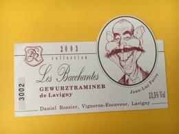 8919 - Gewurztraminer De Lavigny Collection 2003 Les Bacchantes - Moustaches