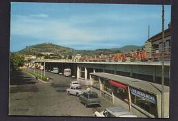 CPSM 30 - ALES - La Gare Routière - TB PLAN Edifice + TB AUTOMOBILES + TB AUTOBUS AUTOCARS Dont DELICHERE - Alès