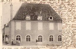 Fontaine-Française. La Mairie - Francia