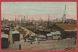 CP - Belgique - 1912 - ANVERS - Bassin Du Kattendijk - - Barcos