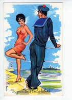 CARRIERE Un Grain  Dans L'oeil A Babord, Marin, Femme Sexy N°986 - Carrière, Louis