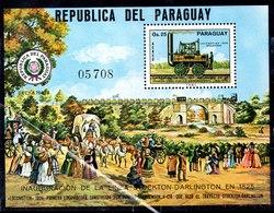 Hoja Bloque De Paraguay N ºMichel 271 (**) - Paraguay
