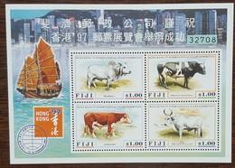 FIDJI - YT BF N°22 - Exposition Philatélique Hong Kong / Races Bovines - 1997 - Neuf - Fidji (1970-...)