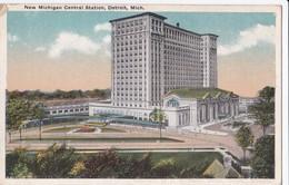 Cartes 1919 DETROIT / CENTRAL STATION ET GALDWIN PARK - Detroit
