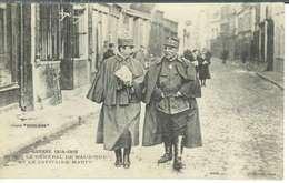 Cpa Le Général Maud'huy Et Le Capitaine Marty , Ww1 , écrite 1915 - Guerre 1914-18
