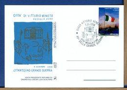 ITALIA - 1998 - VITTORIO VENETO - CITTA' MEDAGLIA D'ORO -  MUSEO - Prima Guerra Mondiale