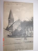 C.P.A.- Achères (78) - Eglise - 1917 - SUP (AX 11) - Acheres