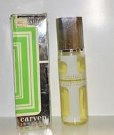 Prix De Depart 1 Euro Collector Parfum De Toilette 82 Ml Plein Variation De Carven - Unclassified